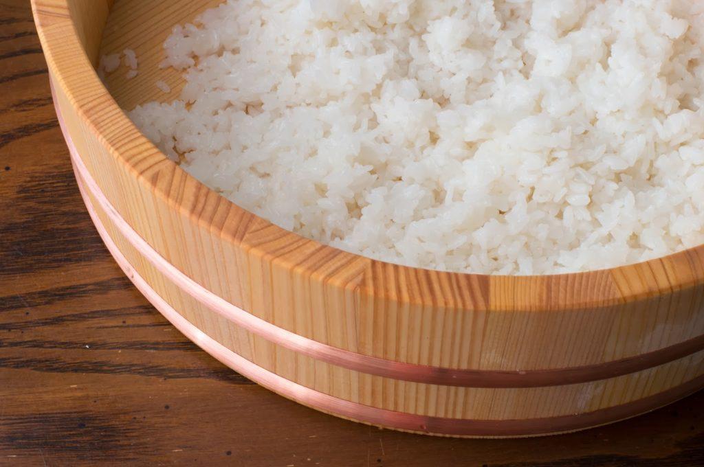 Riz préparé maison