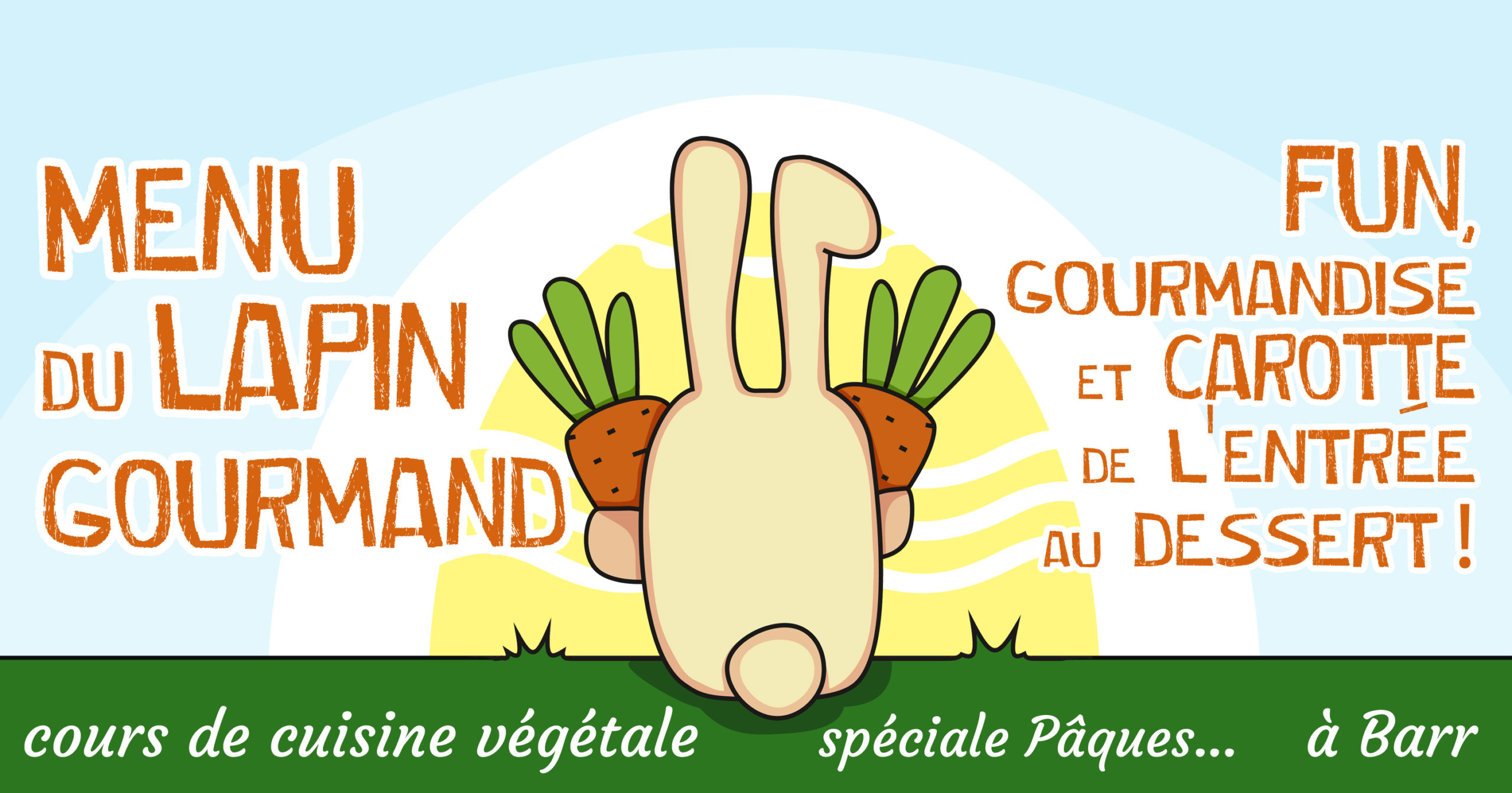 Menu du Lapin Gourmand