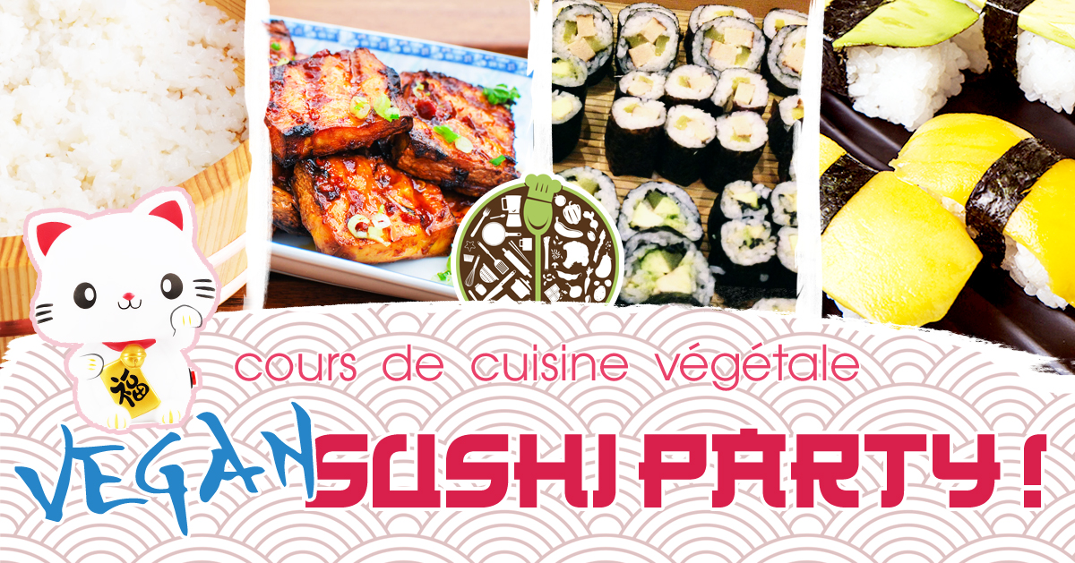 Vegan Sushi Party