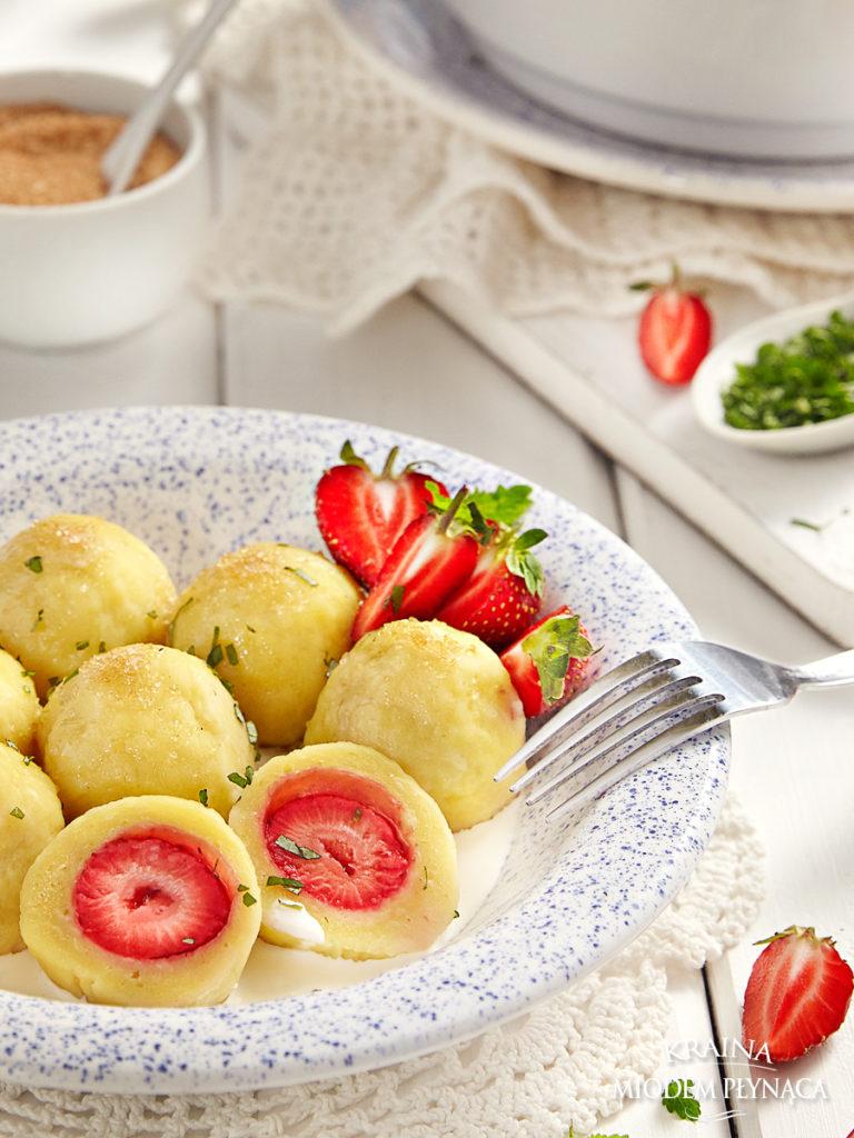 knedle aux fraises